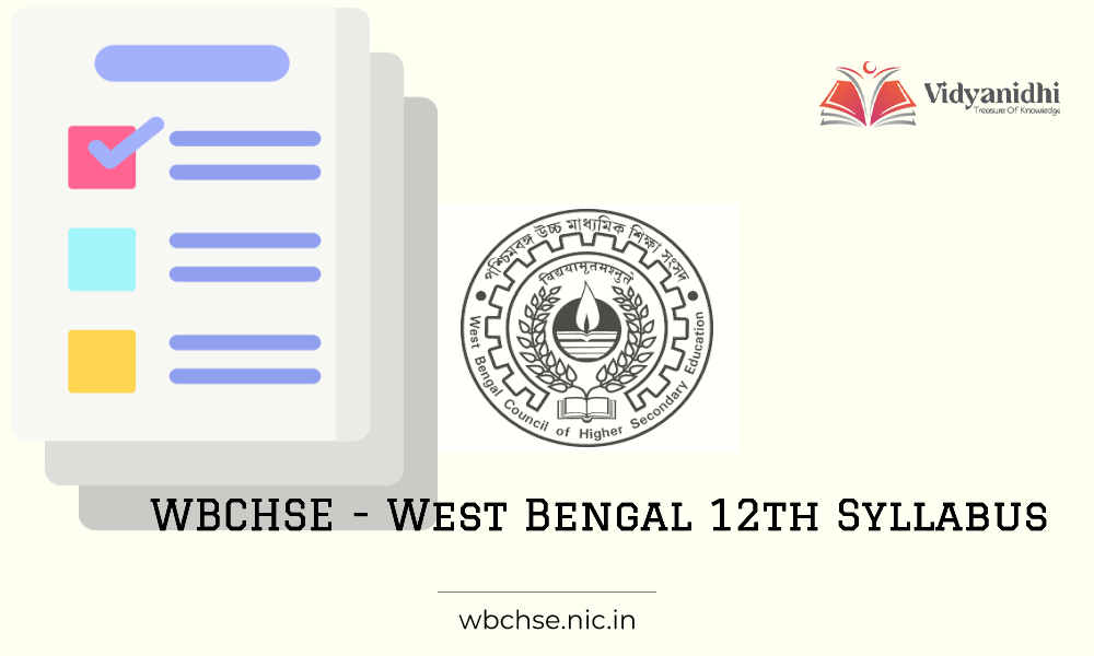 WBCHSE - West Bengal 12th Syllabus 2021